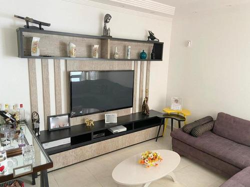 Casa À Venda, 107 M² Por R$ 750.000,00 - Campo Grande - Santos/sp - Ca0163