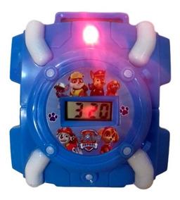 Patrulha Canina Brinquedo Infantil Relógio