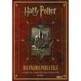 Livro Harry Potter - Das Páginas Para A Tela - Bob Mccabe