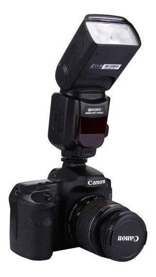 Flash Triopo Tr 960ii Para Qualquer Canon E Nikon Universal