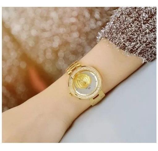 Relógio De Pulso Feminino Elegante Bs Sister 1185