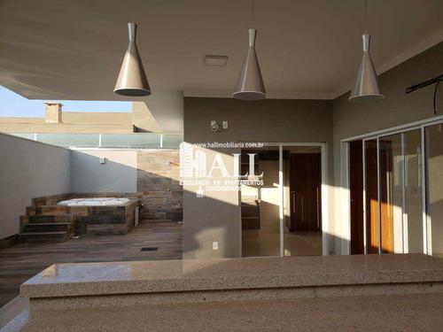 Casa De Condomínio Com 3 Dorms, Residencial Gaivota Ii, São José Do Rio Preto - R$ 948 Mil, Cod: 4317 - V4317