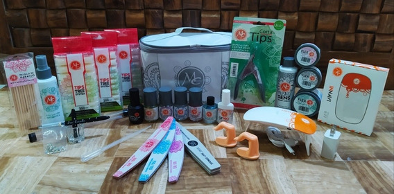 Kit Profesional Para Uñas Acrílicas Mc Nails + Regalos
