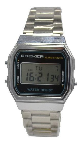 Relógio Vintage Becker - Prata - 15001453mpr