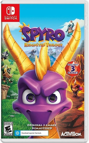 Spyro Nintendo Switch Reignited Trilogy