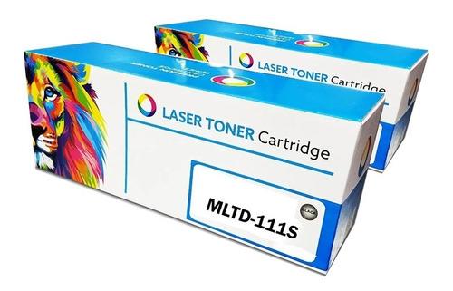 Imagen 1 de 5 de Toner Para Samsung M2020w M2070w 111 Nuevo Chip!!! Pack X2
