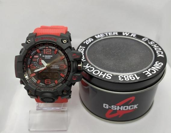 Relógio G-shock Mudmast, Resistente A Água Caixa De Alumínio