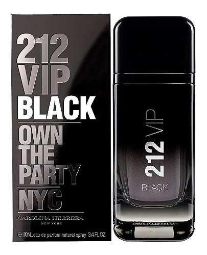 212 Vip Men Black Edp 100ml Silk Perfumes Original Ofertas