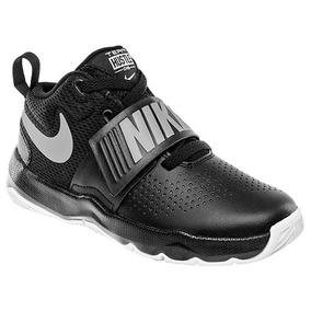 Tenis Basquetbol Nike Hustle Niñas Contac Sint Neg Dtt 99296