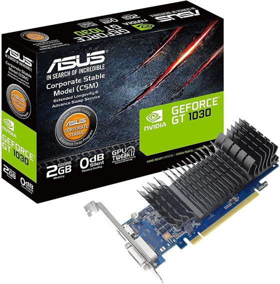 Placa De Video Asus Nvidia Geforce Gt 1030 2gb