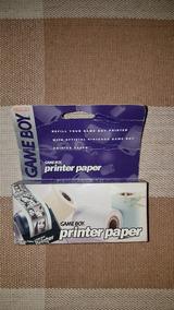 Game Boy Printer Paper Nintendo Raríssimo