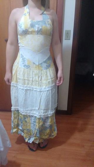 Vendo Kit Com 5 Peças De Roupas Vestido Longo Conjunto Etc