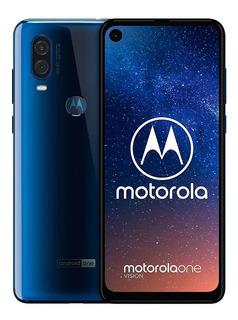 Moto One Vision Dual 128gb 4gb Ram 48mpx Pant 6.3 Original