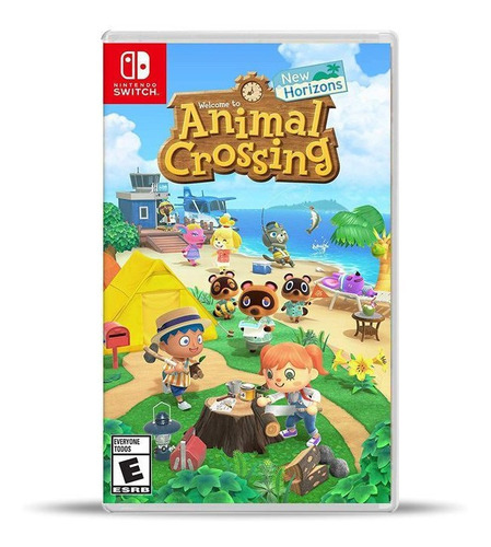 Animal Crossing New Horizons Switch Físico, Macrotec