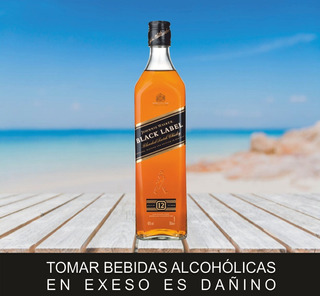 Whisky Johnnie Walker Black Label / Licores X Mayor Y Menor