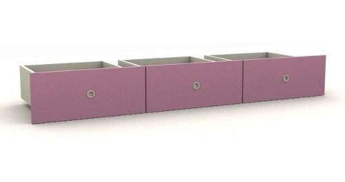 Cajones Inferiores X 3 Mueble La Valenziana Color A Eleccion