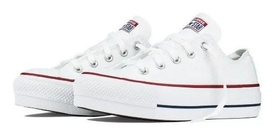 Kit 2 Pares Tênis Converse All Star Chuck Taylor Plataform