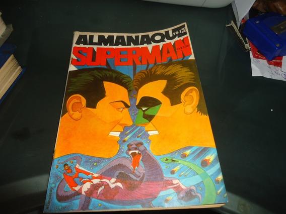 Almanaque Superman Ebal 1973 Excelente Estado!!