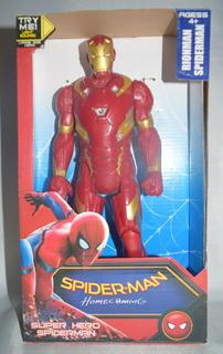 Iron Man, De Pvc 6 Puntos Articulados