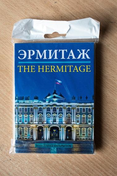 Museo Del Hermitage Colección De 24 Postales