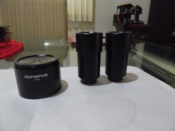 Oculares De 30,5 E 30x+lente Auxiliar Para Estéreo Microscop