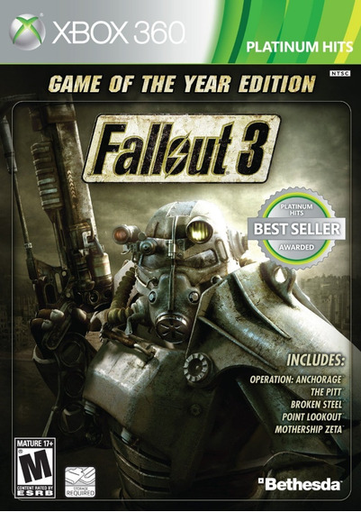 Fallout 3 Xbox 360 - Midia Digital