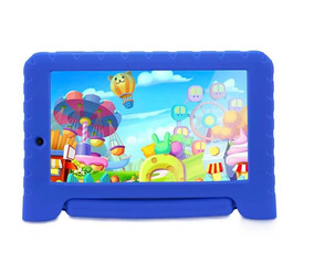 Tablet Multilaser Kid Pad Plus 8gb 7¿ 3g/wi-fi Android Azul