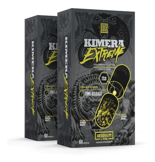 Kit 2x Kimera Extreme - Termogênico 120 Cáps - Iridium Labs