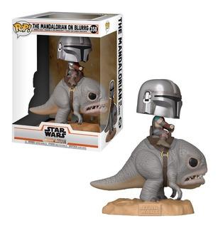 Funko Star Wars The Mandalorian On Blurrg 358 Nuevo Original