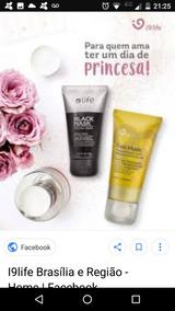 Mascara Facial Ouro E Negra I9life Cravos E Hidrata Prom