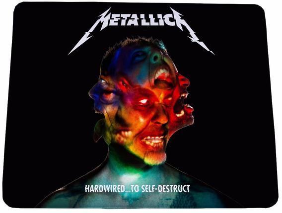 Mouse Pad Metallica To Self Destruct 21x17cm - Frete Grátis