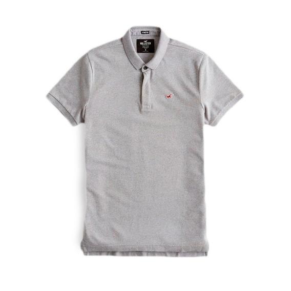 Camisa Polo Stretch Pique Icon Hollister 100% Orig.epic Flex