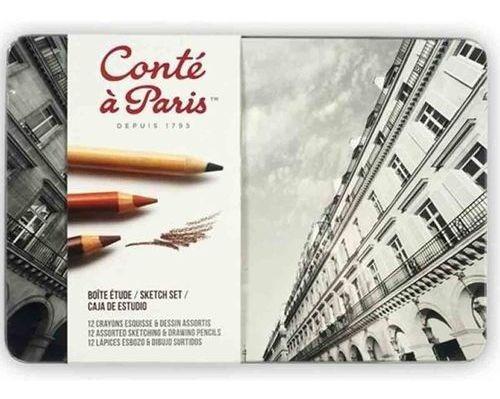 Estojo De Desenho A Lápis Conté À Paris The Sketch Set