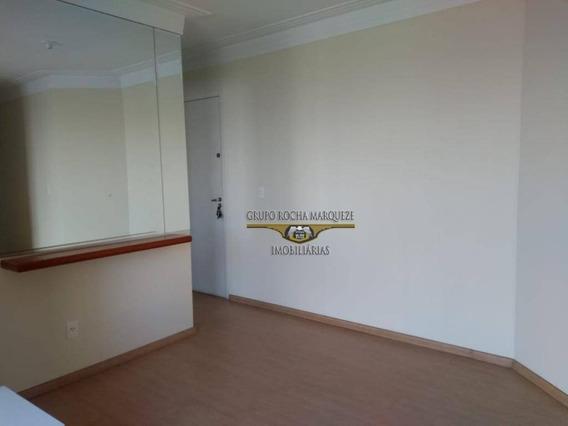 Apartamento Com 2 Dormitórios Para Alugar, 50 M² Por R$ 1.650,00/mês - Belém - São Paulo/sp - Ap2348
