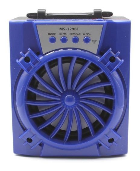Mini Caixa Som Bluetooth 300w Amplificada Usb Mp3 Radio Fm