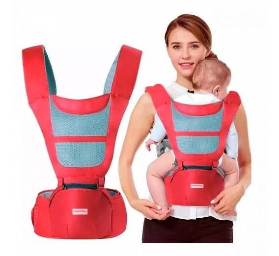 Canguru Bebê 6 Posições Ergonômico Conforto Carregador 20 Kg