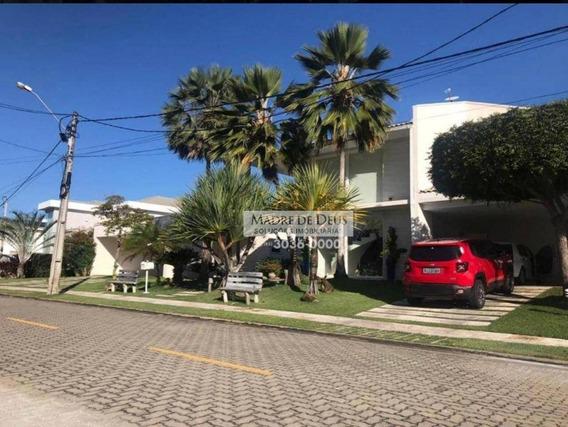 Casa Com 7 Dormitórios À Venda, 574 M² Por R$ 2.800.000,00 - Cararu - Eusébio/ce - Ca1056