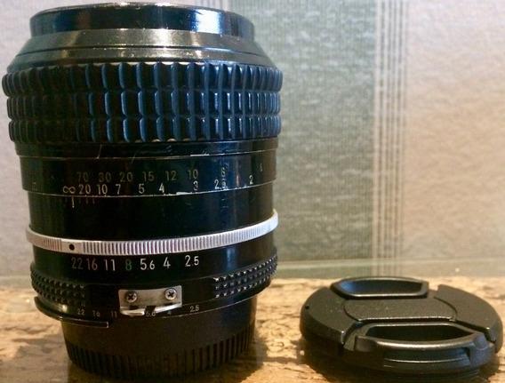 Lente Nikon 105mm F/2.5 Ai Estado Regular Indicada P Retrato
