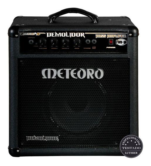 Amplificador Meteoro Contra Baixo Demolidor Fwb50 Promoção!