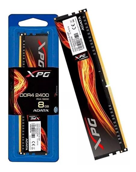 Memória Desktop Gamer Adata Xpg Flame 8gb Ddr4 2666 Mhz