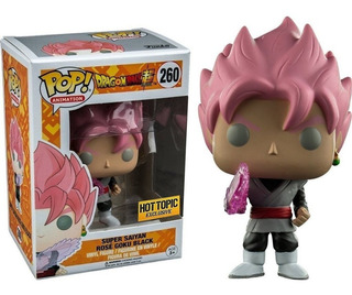 Funko Pop!dbz - Goku Rosé 260 Hot Topic Exclusive Original