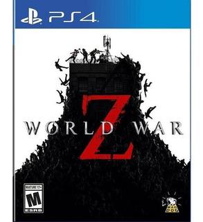 World War Z Ps4 Nuevo Disponible