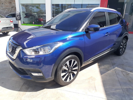 Nissan Kicks 1.6 Exclusive At Cvt 2018 Azul