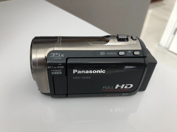 Filmadora Panasonic Full Hd Hdc-sd60 + Brinde