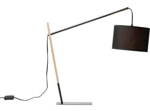 Lámpara De Mesa Curious Negra Kare (34943)