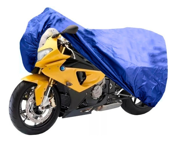Funda Cubre Moto Impermeable Afelpada Bolso Calidad Premium