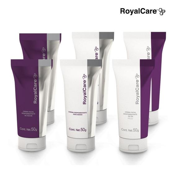 Royal Care 6pack - Crema Aclara Y Cuida Tu Piel - Cv Directo