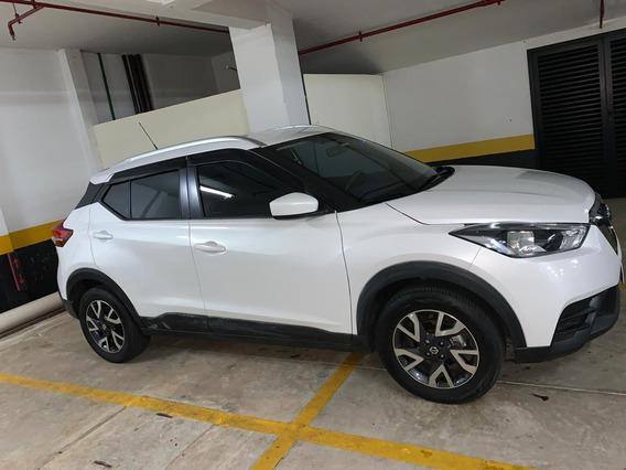 Nissan Kicks 5p Branco 2019 Único Dono