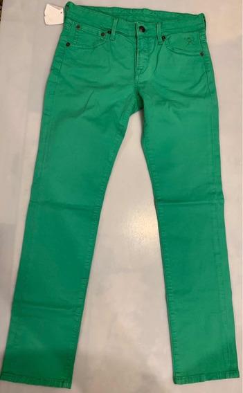Pantalón Hackett Para Niño Talla 12años Color Verde