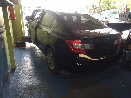 Civic 2014 Sucata Motor Cambio Lataria Retirada Peças